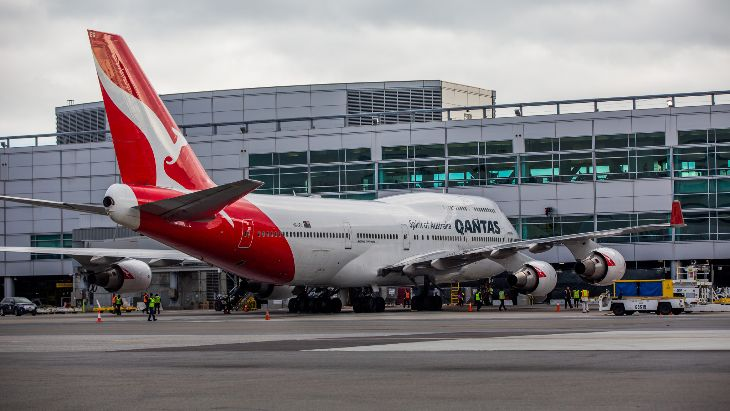 Sounds like Qantas 747 will be at SFO for a while (Photo: Peter Biaggi)