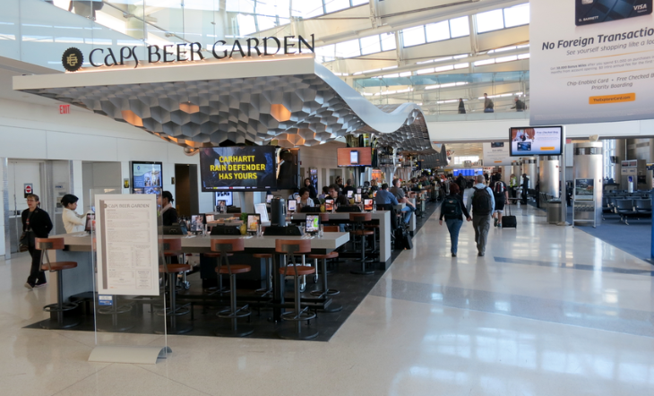 Despite dramatic recent improvements to United's Concourse C Newark ranked last in passenger satisfaction among large airports. (Photo: Chris McGinnis)
