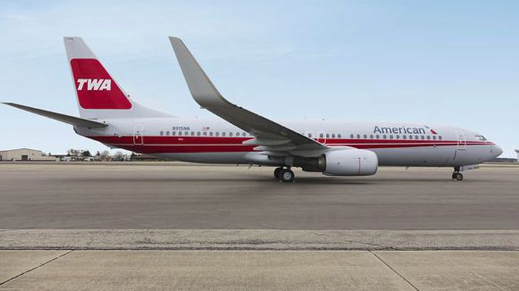 Renowned legacy carrier TWA -- or what was left of it -- was acquired by American in 2001. (Image: American Airlines)