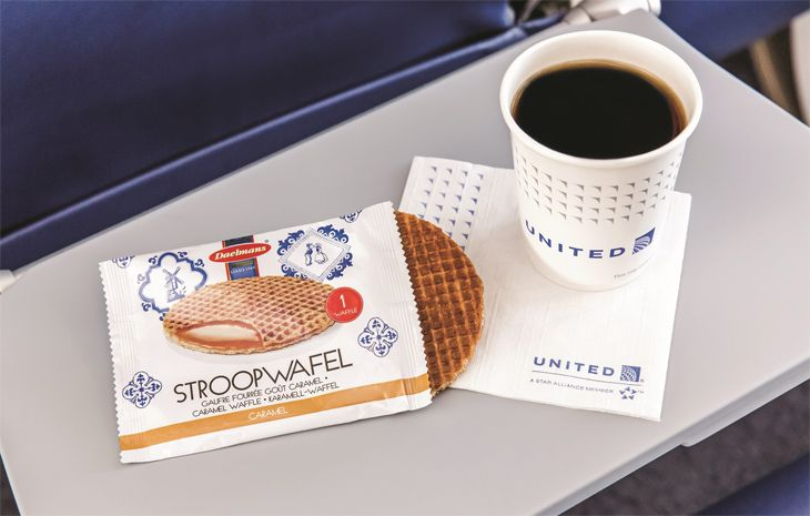 What's a stroopwafel? Find out soon on United. (Image: United)