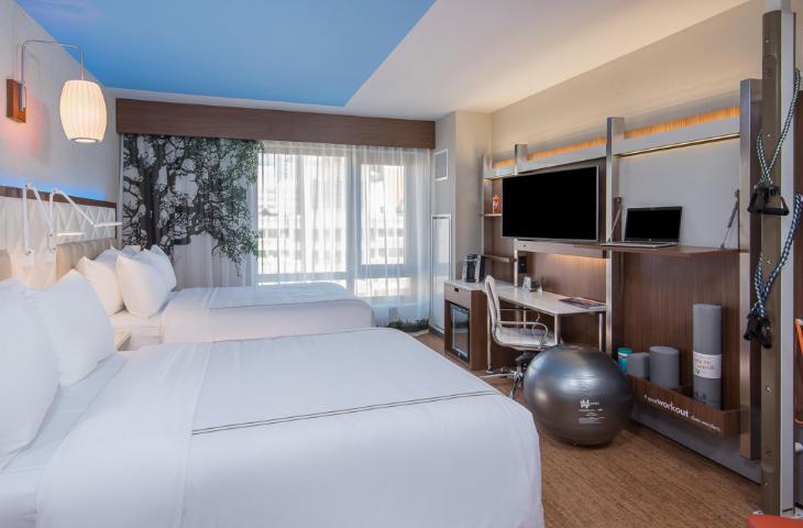 I booked a room at the brand new Even Hotel in NYC for just $115 per night (Image: IHG)