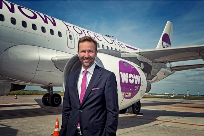 Skúli Mogensen, the founder and CEO of WOW Air (Photo: WOW Air)