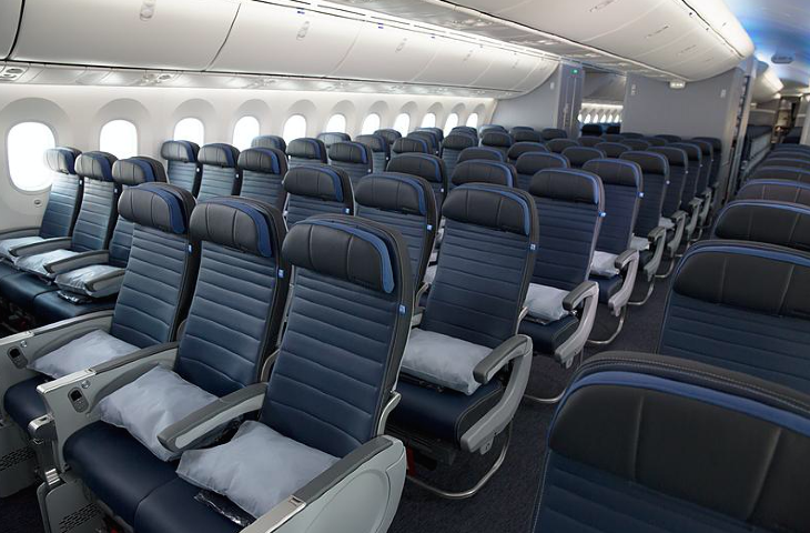 Economy class on United's 787-9 (Photo: United)