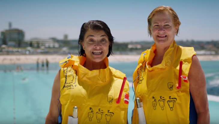 Seen QANTAS clever new inflight safety video? See link below (Image: QANTAS)