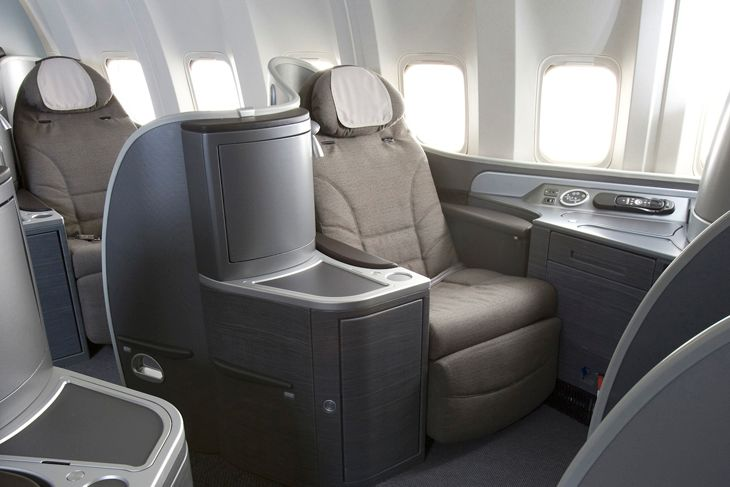 A comfy United Global First seat. (Image: United Airlines)