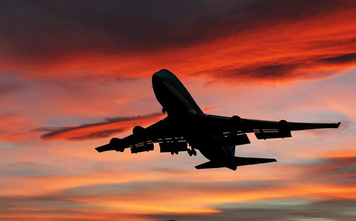 Boeing's iconic 747 is gradually flying off into the sunset. (Image: Jim Glab)