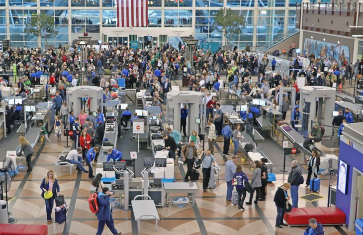 TSA said it has reduced long waiting lines to manageable levels. (Image: Jim Glab)
