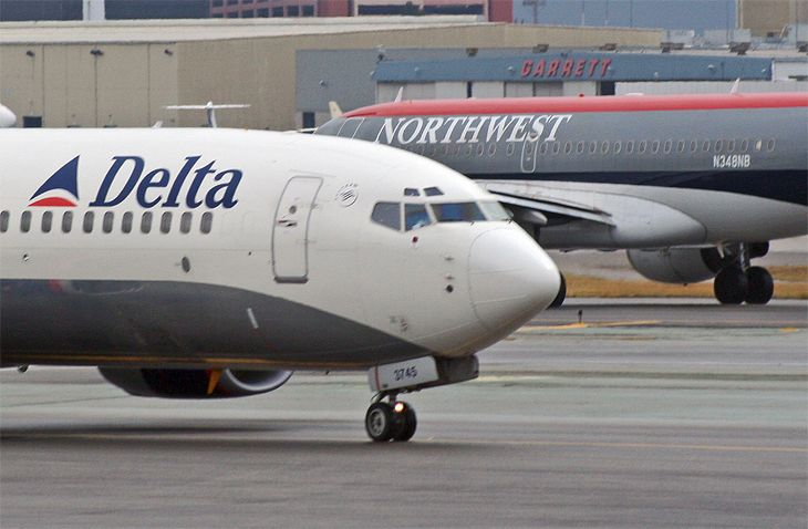 Delta assumed its current structure when it merged with Northwest in 2008. (Image: Jim Glab)