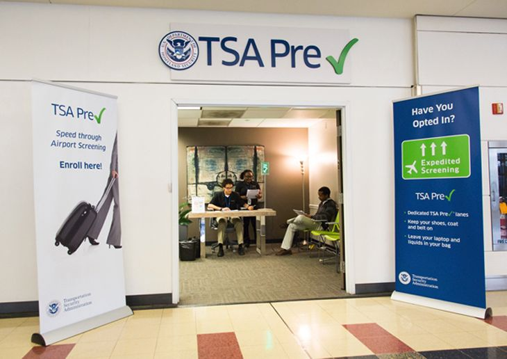TSA PreCheck now has 355 sign-up centers. (Image: TSA)