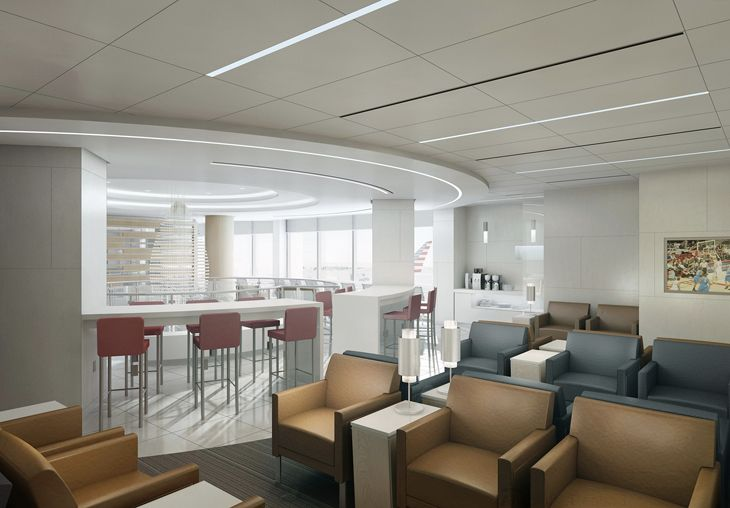 Design for American'snew Admirals Club coming to Orlando International. (Image: American Airlines)