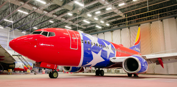 Southwest Airlines special livery