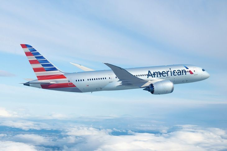 American is using a 787 Dreamliner on its new Los Angeles-Tokyo Haneda route. (Image: American)