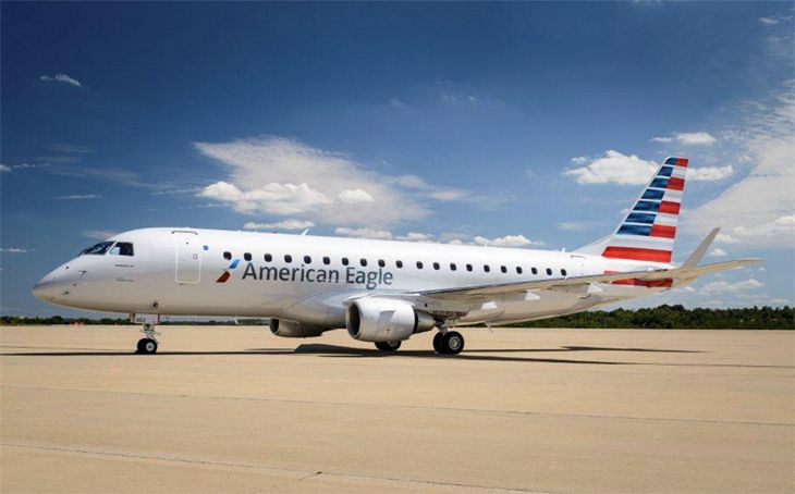Republic Airways flies E175s like this one for American Eagle and Delta Connection. (Image: American Airlines)