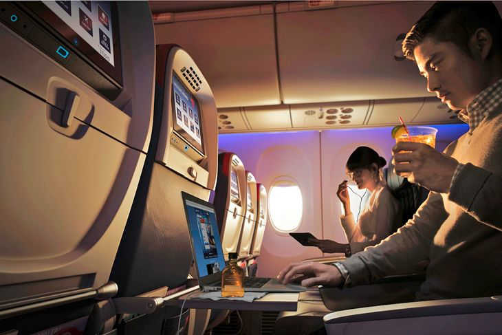 Delta now offers Wi-Fi on all of its transatlantic flights. (Image: Delta)