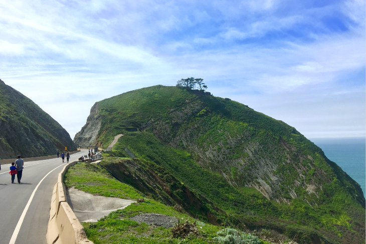 The new Devil's Slide trail is just 30-min Uber ride away from the city (Photo: Chris McGinnis)