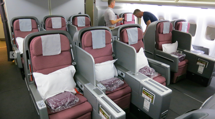 how to get the best seat on qantas international flights