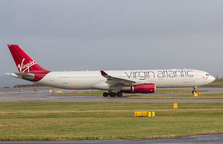 A Virgin Atlantic A330 in Manchester (Photo: Wikimedia Commons)
