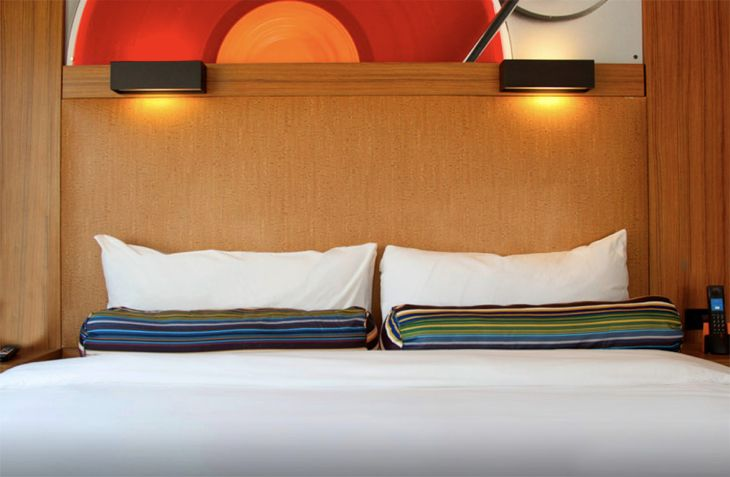 Guest accommodations at the new Aloft Hotel near Los Angeles International Airport. (Image: Starwood)