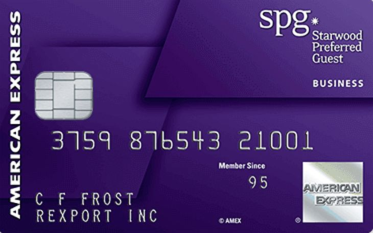 Holders of the SPG AmEx card can now earn points for spending at Marriott Hotels. (Image: American Express)