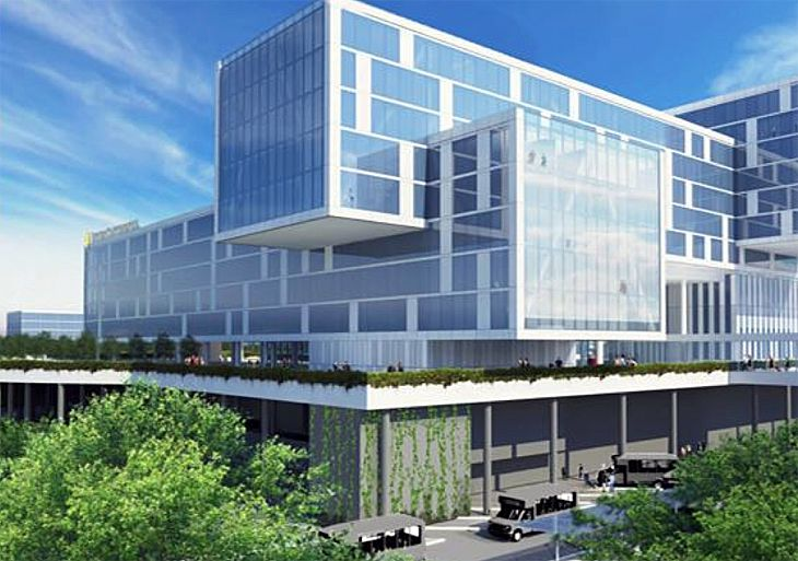 New rendering of the hotel coming to Atlanta's airport. (Image: Atlanta Hartsfield-Jackson)