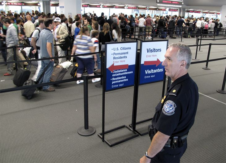 Customs and Border Protection (CBP) is using technology to reduce lines. (Image: CBP)