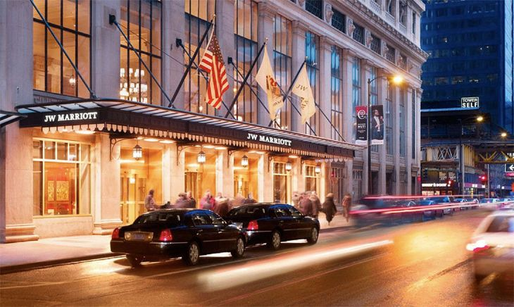 The JW Marriott in Chicago's Loop. (Image: Marriott)