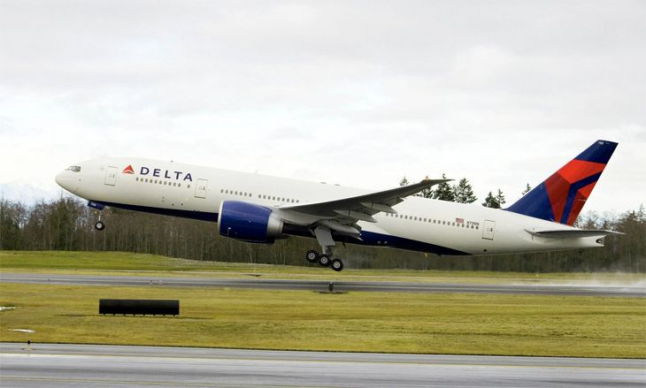 Delta plans to use a 777-200 for new LAX-Beijing non-stops. (Image: Delta)