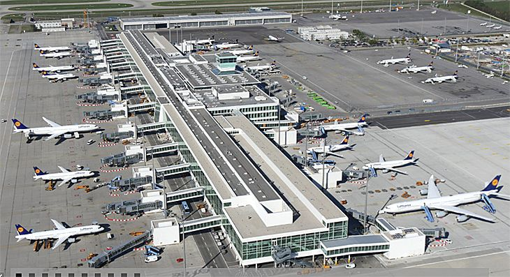 Munich Airport Big New Terminal New Us Route New Hotel