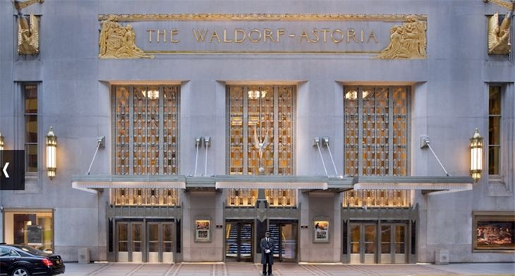 A Chinese firm that bought the Waldorf-Astoria is leading a new bid to acquire Starwood. (Image: Waldorf-Astoria)