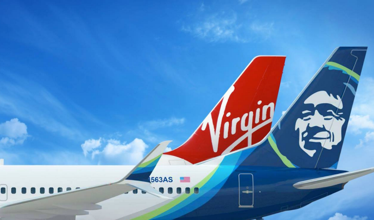 Alaska Airlines & Virgin America's merger has been slightly delayed. (Image: Alaska Airlines)