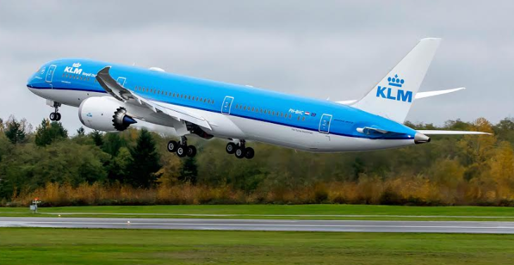 KLM's new 787-9 Dreamliner (Photo: KLM)