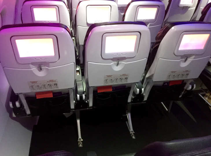 Virgin's premium economy is called Main Cabin Select & offers six extra inches of space (Photo: Chris McGinnis)