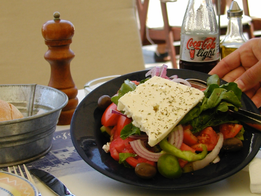 Mmmm. Easier access to summer salads in Greece (Photo: Chris McGinnis)