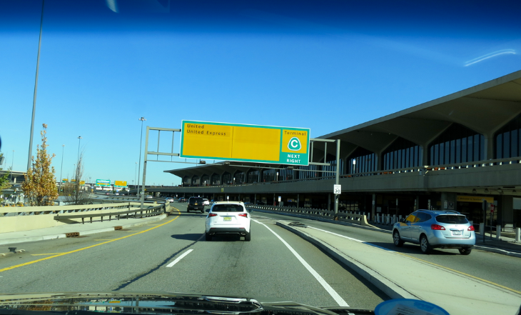 Uber at the airport in Newark still a question mark (Photo: Chris McGinnis)