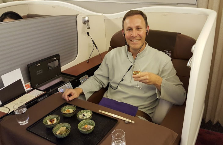 A Celebrity Reader Report Japan Airlines First Class Lax