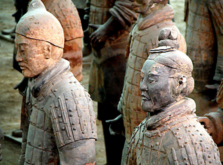 Xian's Terracotta Warriors (Photo: Peter Morgan - Wikimedia Commons)