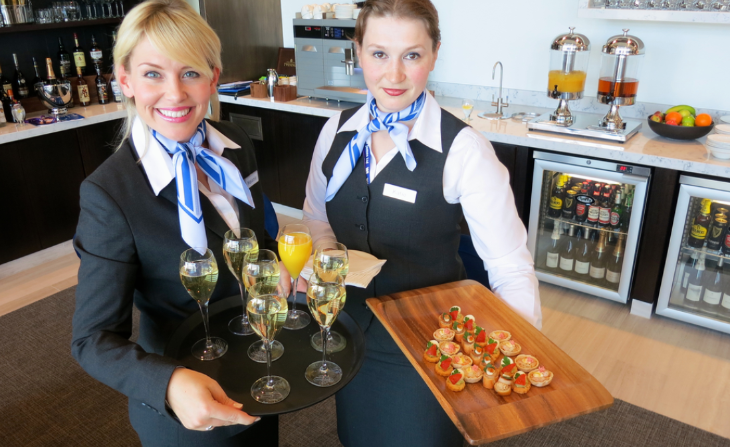 TravelSkills was in London LHR last year when Sodexo showed off its food service prowess (Photo: Chris McGinnis)
