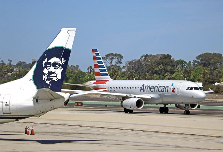 Alaska Airlines is advising Mileage Plan members of earning changes on AA flights. (Image: Jim Glab)