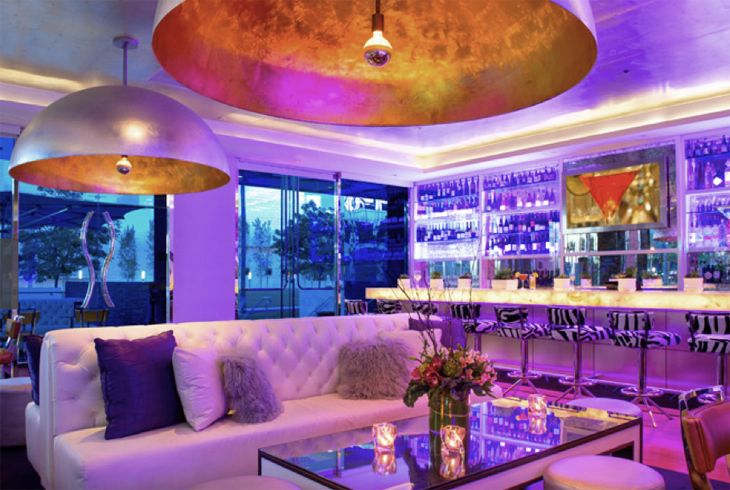 Silver Trumpet bar at Avenue of the Arts Hotel in Costa Mesa. (Image: Starwood)