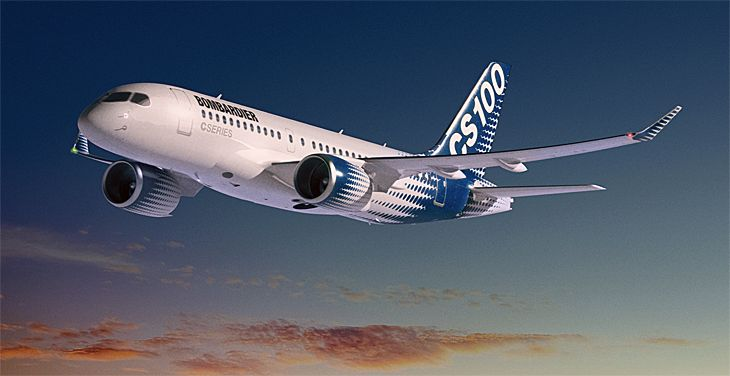 Delta is turning to Bombardier's new CS100 for its fleet renewal program. (Image: Bombardier)