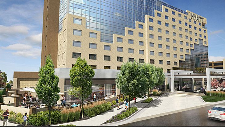 The new Hyatt Regency in Aurora, CO targets medical meetings. (Image: Hyatt)
