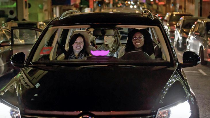 Ride-hailing apps like Lyft are surging in their share of business travel spending. (Image: Lyft)