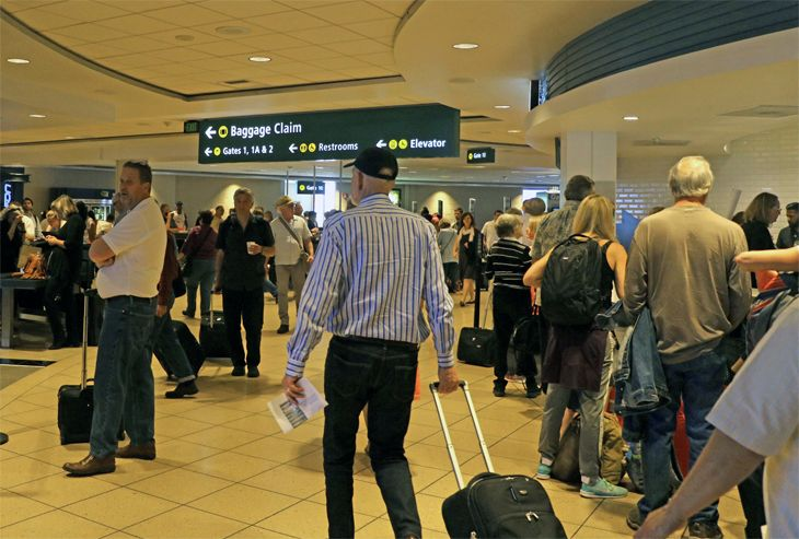Air fares are down. But are passengers paying less? (Image: Jim Glab)