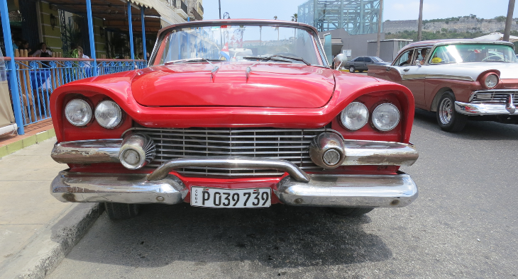 red dodge in cuba