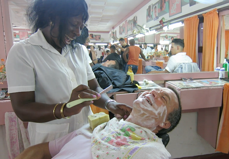 Shave in Cuba