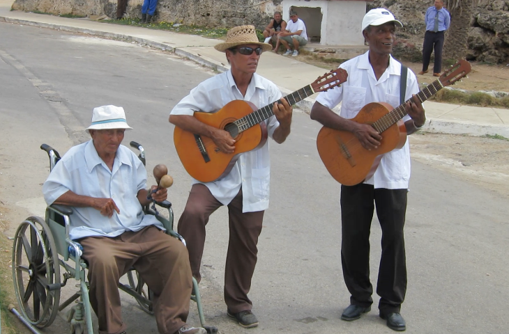 Music is everywhere you turn in Cuba. Great way to leave a tip! (Chris McGinnis)