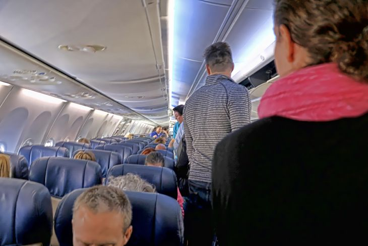 J.D. Power says airline passengers are more satisfied these days. Are you? (Image: Jim Glab)
