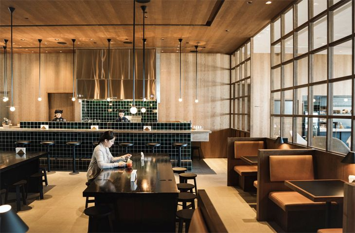 Cathay Pacific's new Vancouver premium lounge has a Noodle Bar. (Image: Cathay Pacific)