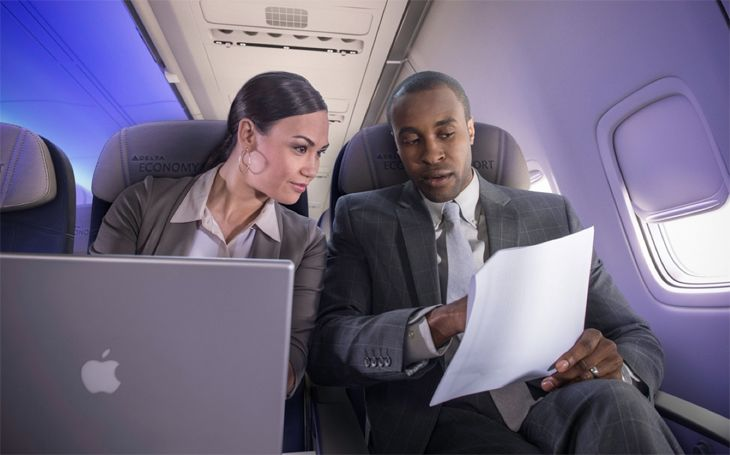 Delta is bringing faster Wi-Fi to its mainline fleet. (Image: Delta)