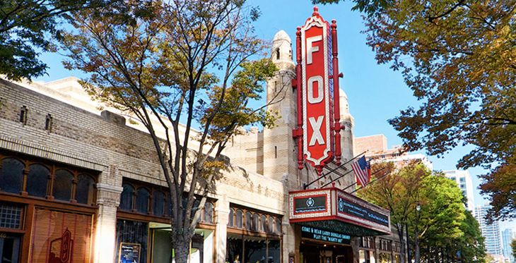 Atlanta's Fox Theater lost Delta's sponsorship after Qatar Airways held a party there last year. (Image: Fox Theater)